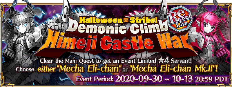Revival: Halloween Strike! Demonic Climb – Himeji Castle War – Lite