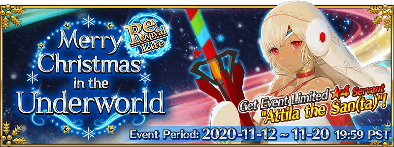 Revival: Merry Christmas in the Underworld Event Guide