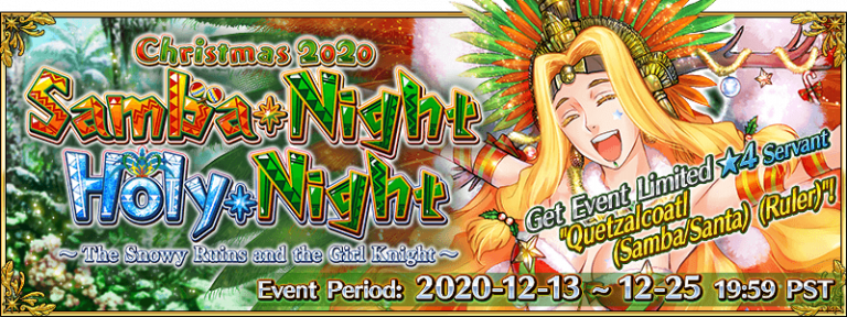 Christmas 2020: Samba Night Holy Night – Event Guide