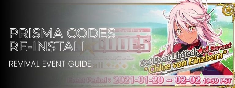 Revival: Magical Girl Cruise – PRISMA CODES – Re-install Event Guide